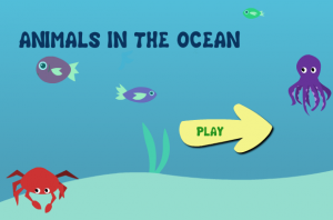 Animals in the Ocean