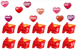 Count Hearts