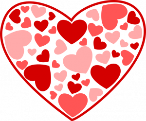 Hearts in a heart