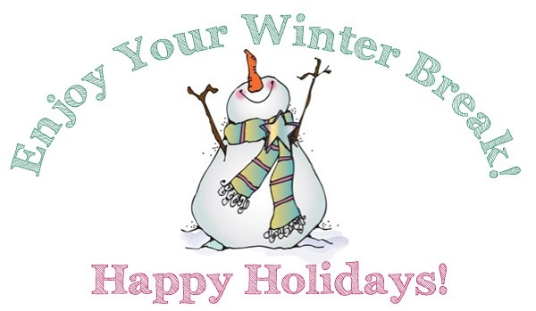 Calusa Elementary PTA - Happy Holidays - Back to School on Monday 1/9