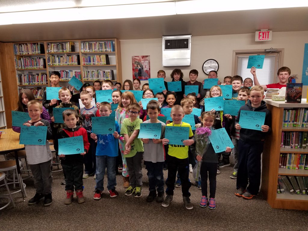 Students honored for March 2018
