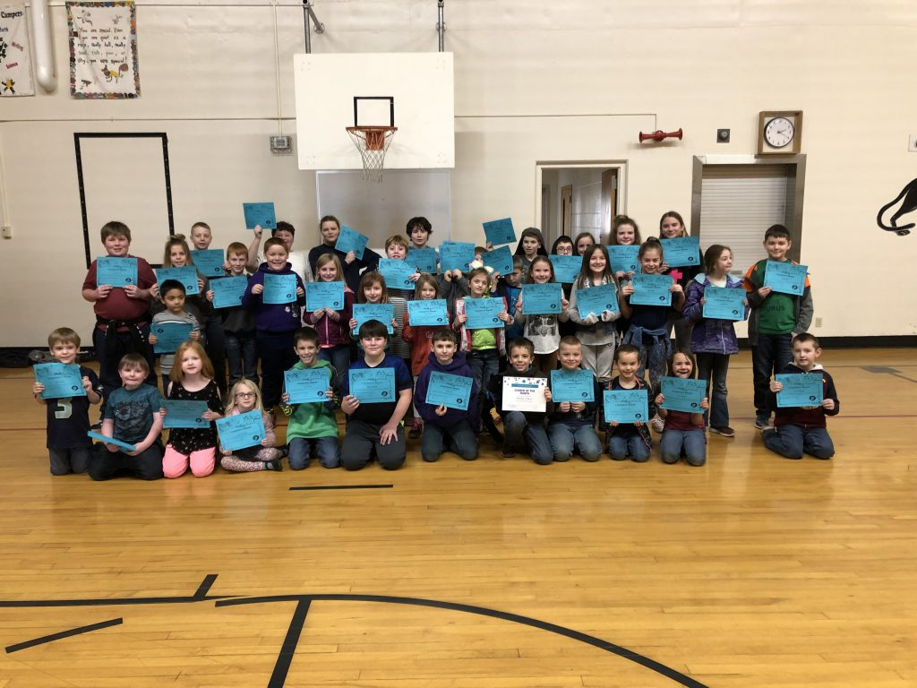 Students honored on January 25th 2019