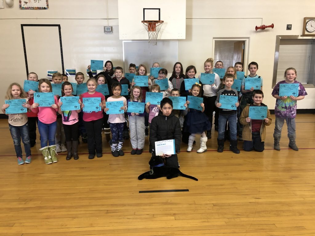 Students honored at the February 2019 Assembly