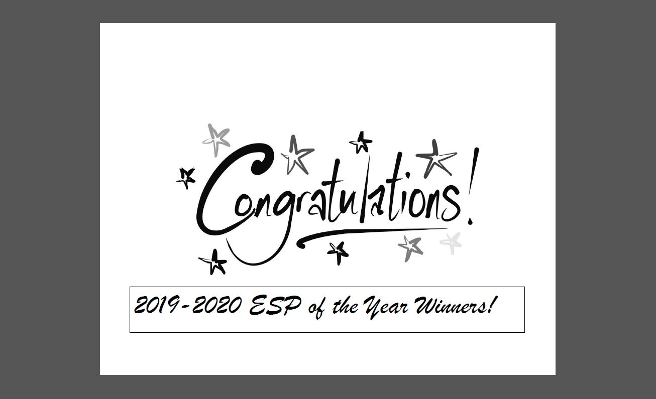 ESP of the Year 2019-2020